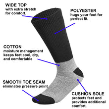 Load image into Gallery viewer, Doctor Recommend Thermal Diabetic Socks For Men Women 6-Pairs