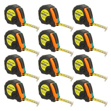 Load image into Gallery viewer, 10ft Power Tape Measure Auto Lock (12-Pack)