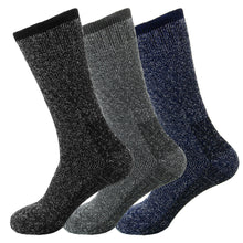 Load image into Gallery viewer, 3-Pack Men's Winter Thermal Heated Sox