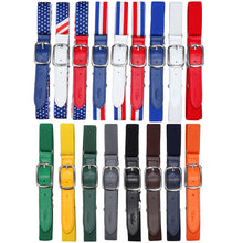 Load image into Gallery viewer, Falari Kids Leather Elastic Adjustable Belts for Boy Girl All Occasion Variety Colors