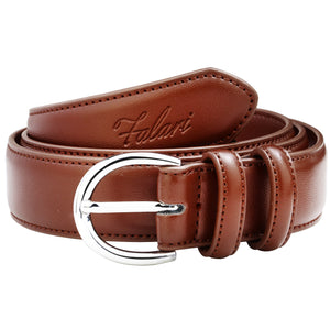 Falari Women Genuine Leather Belt Fashion Dress Belt With Single Prong Buckle 6028 Part 1