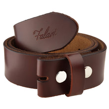 "Load image into Gallery viewer, Falari Replacement Genuine Leather Belt Strap 1.5"" Wide"