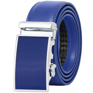 Falari Men Leather Ratchet Dress Belt