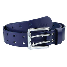 Load image into Gallery viewer, Men's Full Grain Leather Double Prong Belt