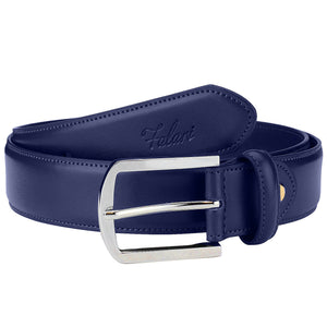 Falari Men Genuine Leather Casual Dress Belt With Single Prong Buckle 9028-Part 2
