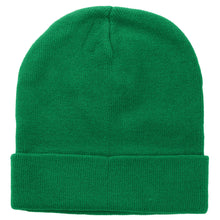 Load image into Gallery viewer, Knitted Beanie Hat - Kelly Green