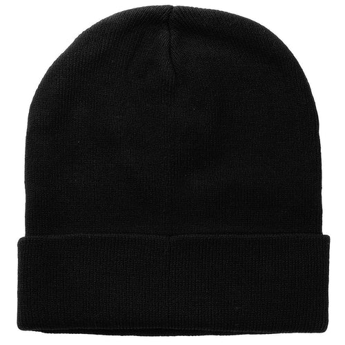 Knitted Beanie Hat - Black