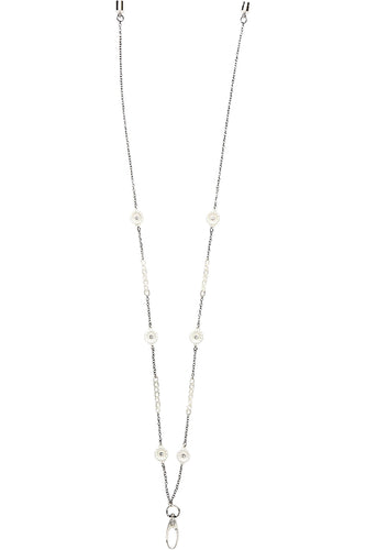 DAISY Fashion ID Necklace In Silver