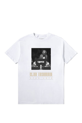 Club Insomnia T-Shirt (White)