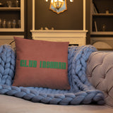 Club Insomnia Queen Pillow (18x18) *