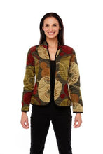 Load image into Gallery viewer, Classic Lily Pad Autumn Reversible Jacket - Trimdin Artisan Museum Range