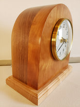 Load image into Gallery viewer, Clock - Bespoke hand crafted - Cherry and Maple Wood