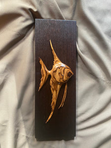 Justin Gordon - Angelfish in Zebra Wood