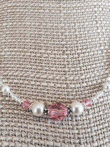 Bonnie Parker Collection Jewelry - Swarovski crystals & pearls with sterling silver