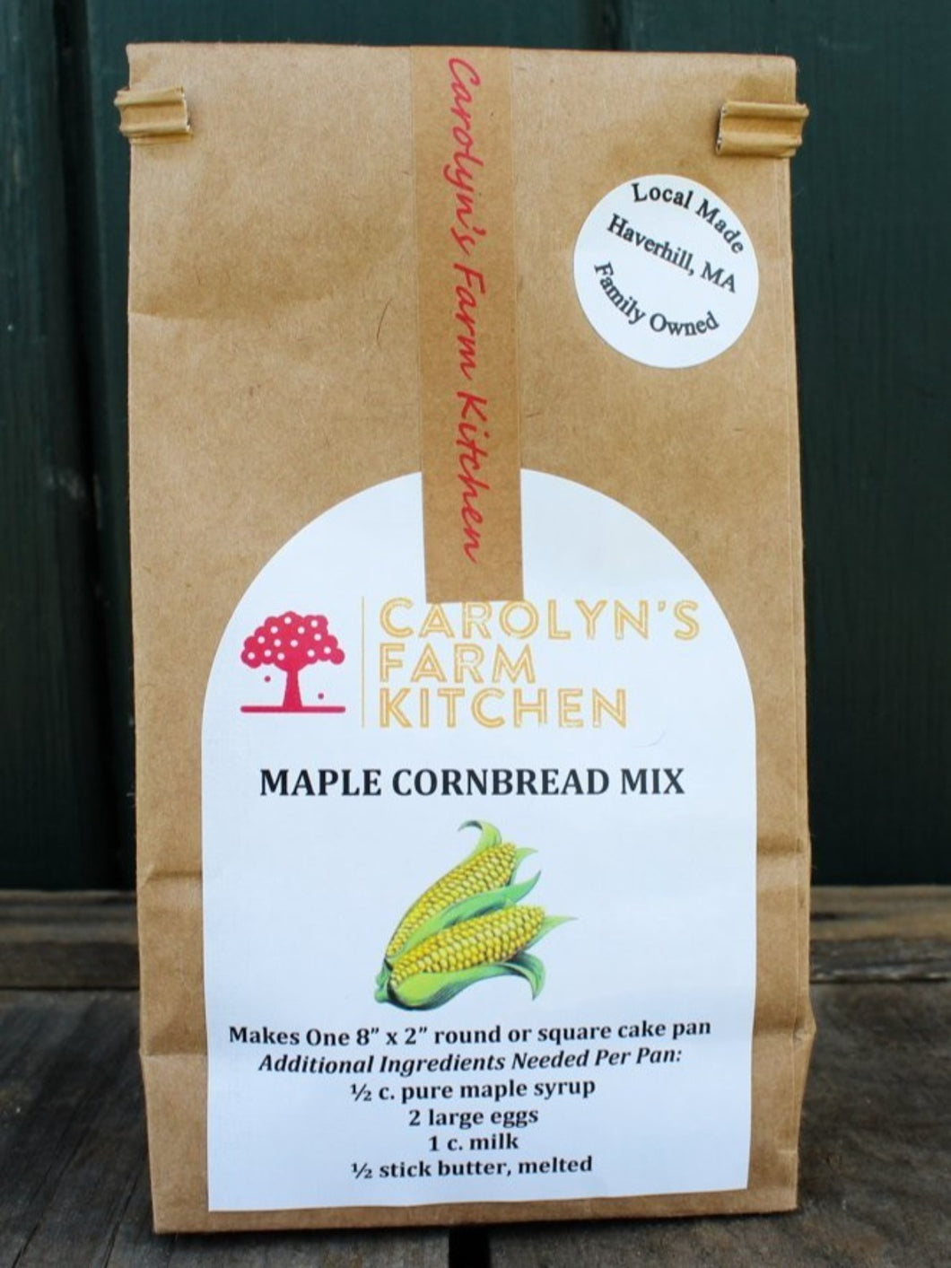 Baking Mixes from Carolyn's Farm Kitchen