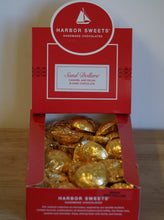 Load image into Gallery viewer, Harbor Sweets Handmade Chocolates Gold Foil Singles