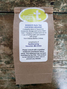 Fruitlands Organic Shaker Tea