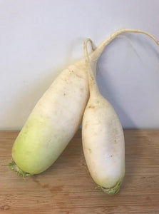 Daikon Radishes, Organic (Appleton Farms - Trustees Grown)