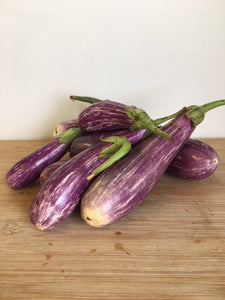 Fairy Tale Eggplant, Locally Grown - 1 lb bag