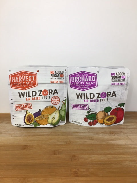 Wild Zora Dried Fruit Packs(2.5oz)