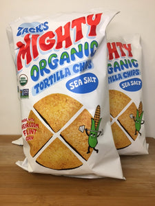 Tortilla Chips, Organic (Zack's Mighty)