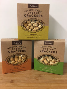 Organic Oyster Crackers (Potter's) 8oz