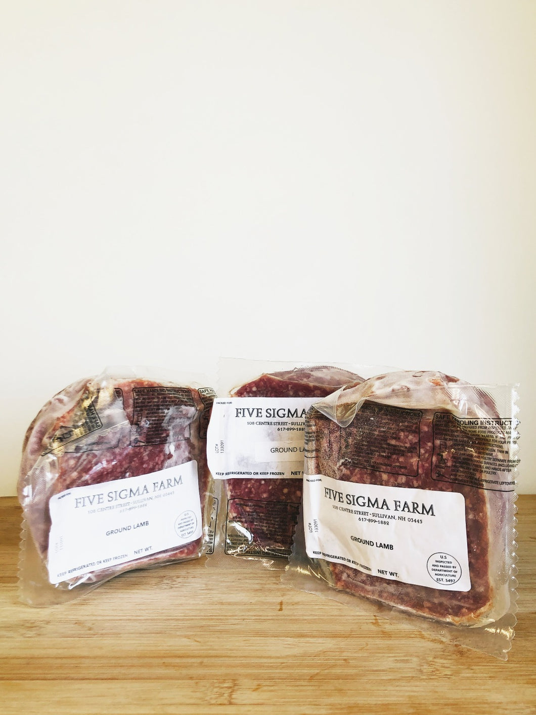 Lamb, 100% Grass-fed & Pasture-raised (Five Sigma Farm)