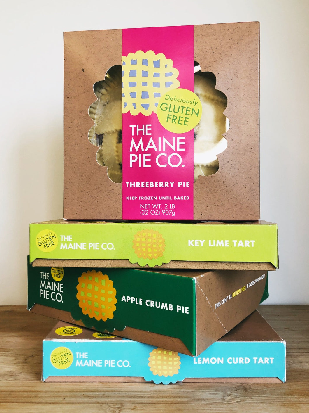 Pies & Tarts, Gluten Free (Maine Pie Co.)