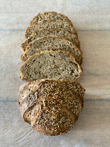 Seeded Farmstead Sourdough, Fresh Bread - Appleton Farms Kitchen
