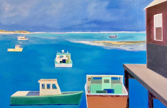 Anne Harney - Lobster Boats