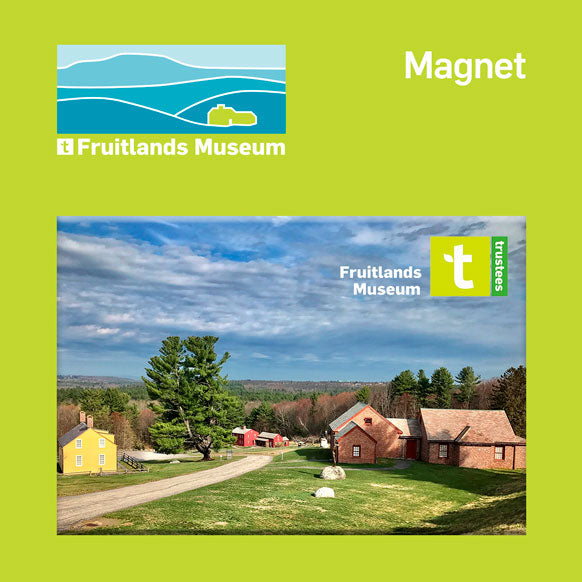 Magnet - Fruitlands Museum Fridge Magnet