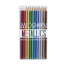 Load image into Gallery viewer, Modern Metallics Colored Pencils