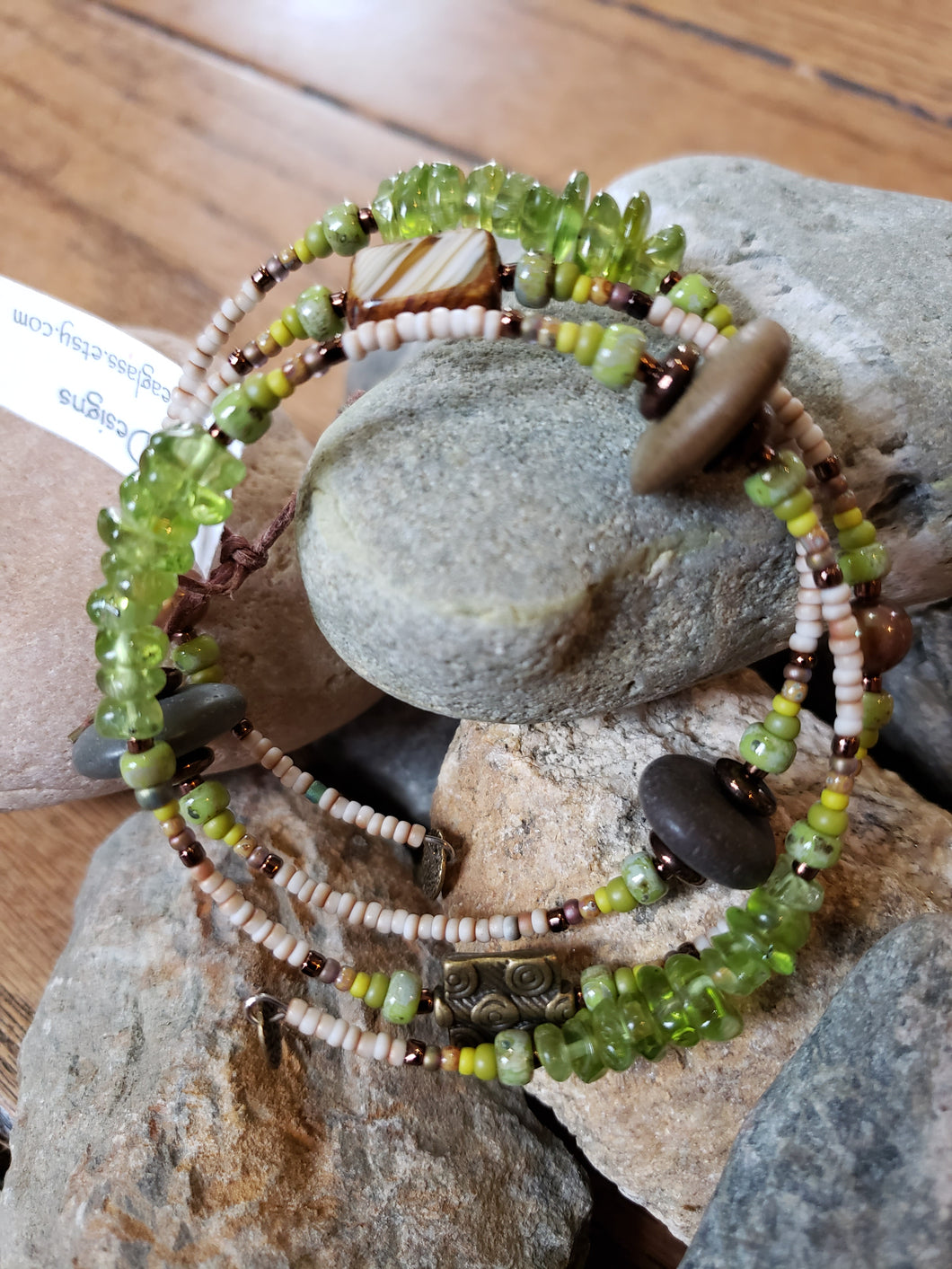 Iris Seaglass Design Jewelry - Bracelet Collection