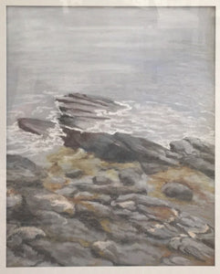 Katrina Hart - Rocks, Maine Coast