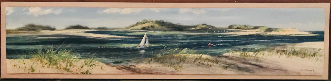 Kim Thayer - Sailing out the Essex River