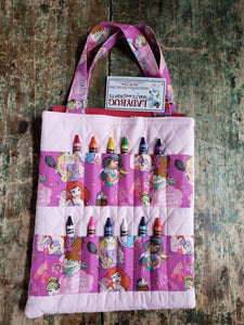 Bags with crayons & coloring book for children
