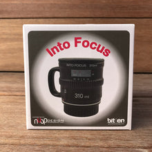 Load image into Gallery viewer, Into Focus Camera Lens Mug