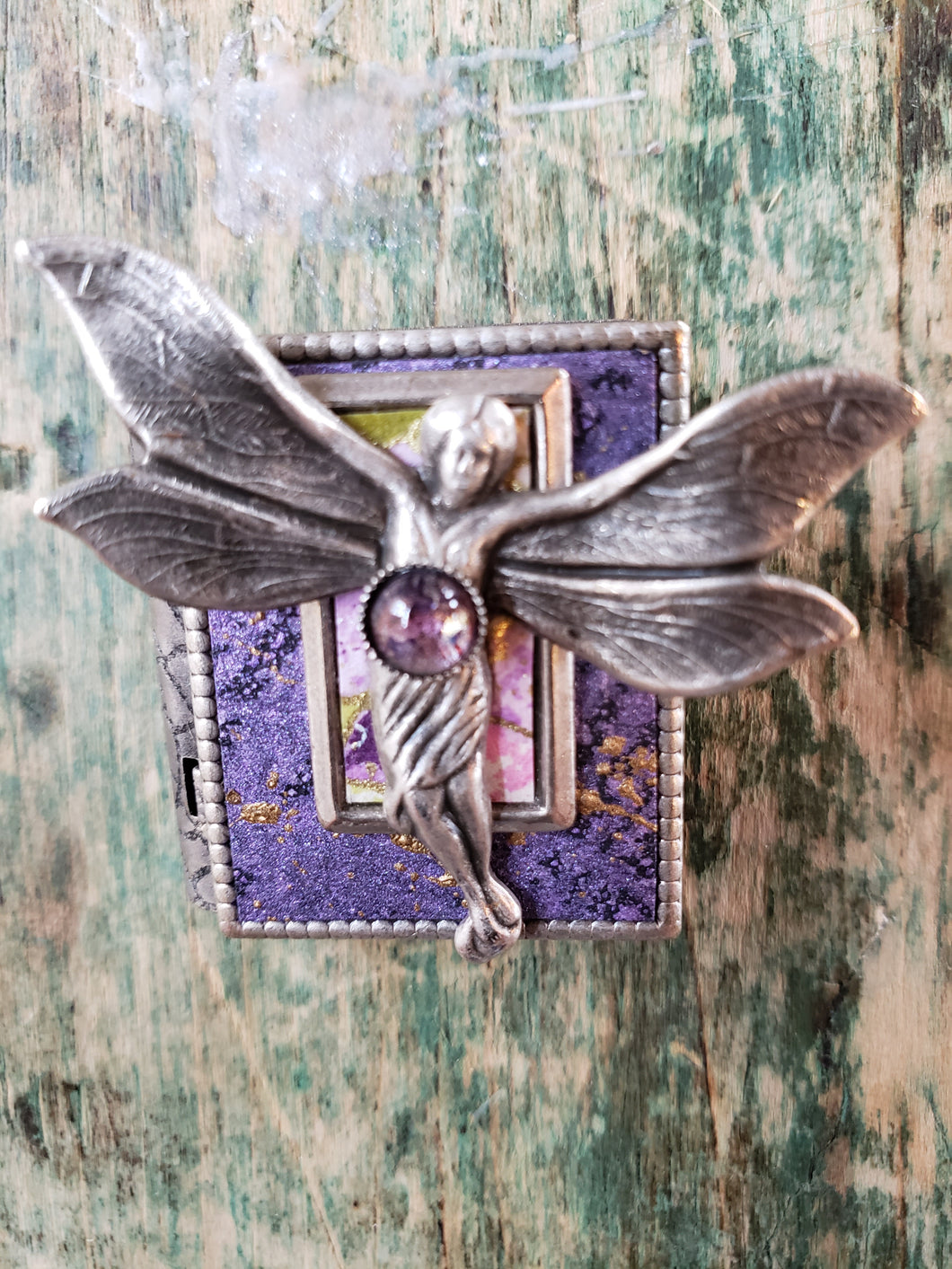 Fairy Story Pin with a Dream Wings Story