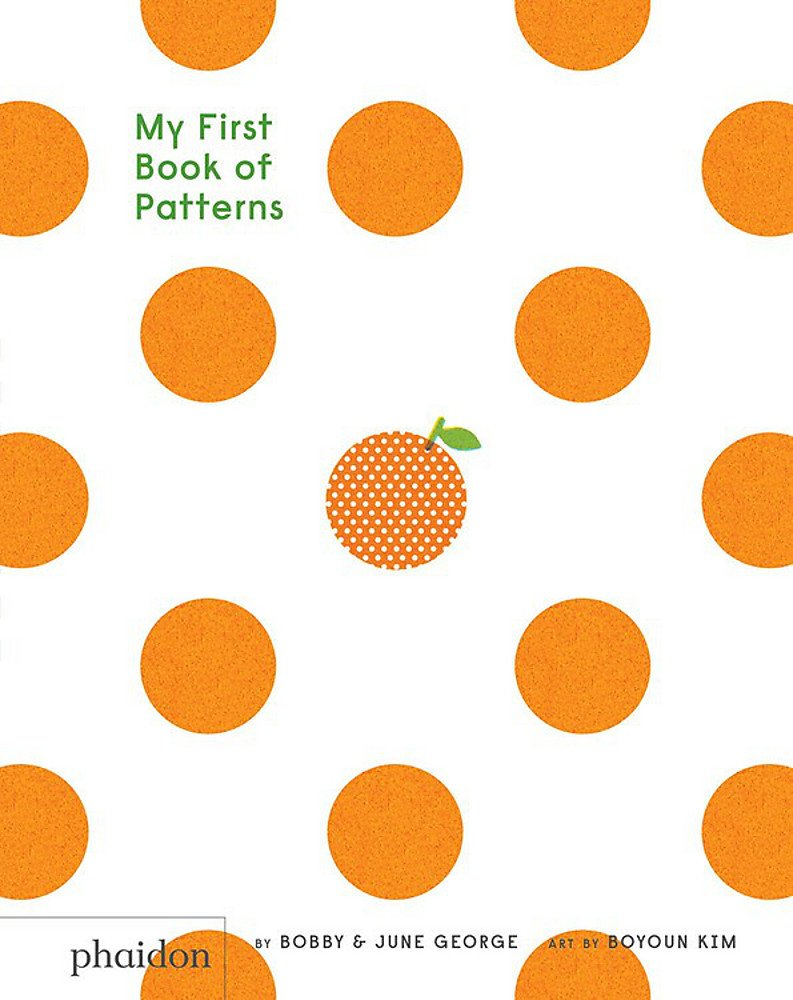 My First Book of Patterns - Board Book