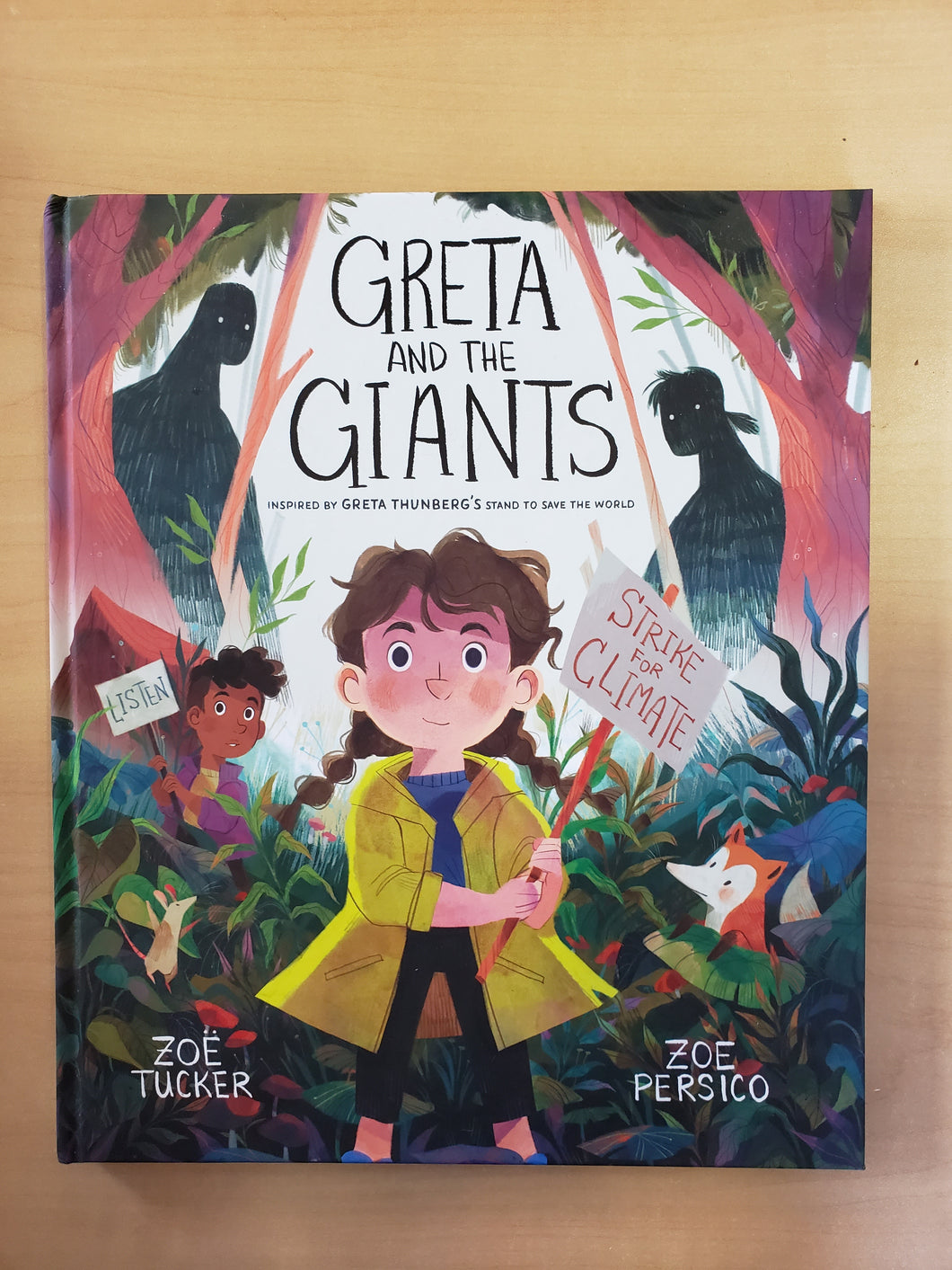 Greta and the Giants: Inspired by Greta Thunberg