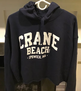 Crane Beach Cropped Sweatshirt