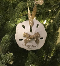 Load image into Gallery viewer, Crane Beach Sand Dollar Ornament