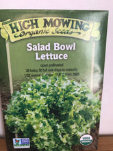Load image into Gallery viewer, Leafy Greens (High Mowing Organic Seeds)