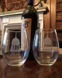 Castle Hill Stemless Wine Glass