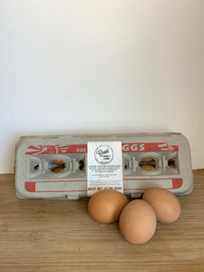 Eggs, Pasture-raised Organic (Grant Family Farm)