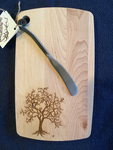Cutting Boards with Knife Spreader