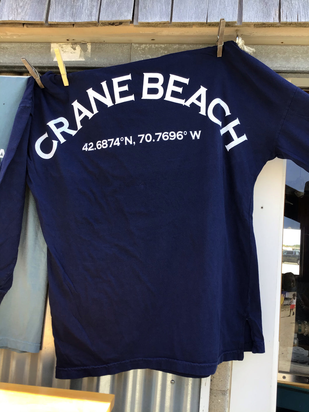 Crane Beach Game Day Oversized Long Sleeve