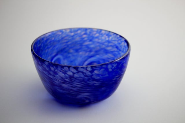 Bowl - Vincent - Hand Blown by Aron Leaman