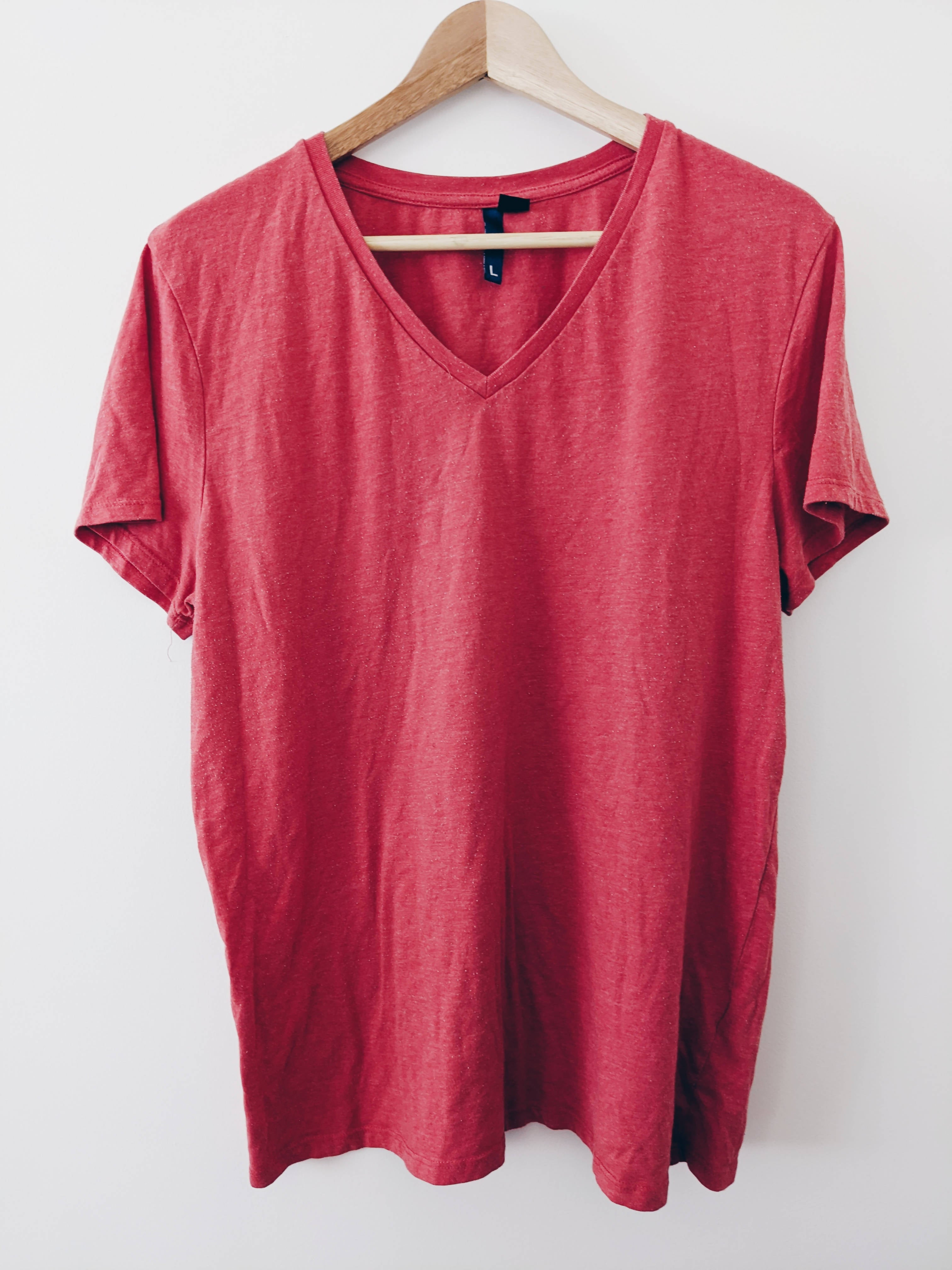 Divided Red tee