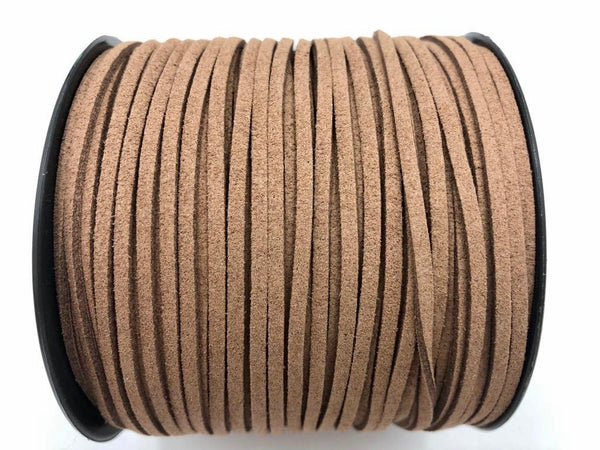 10 mt ALCANTARA - Suede color Marrone Castagno